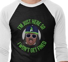 Marshawn Terrell Lynch : Beast Mode  Men's Baseball ¾ T-Shirt