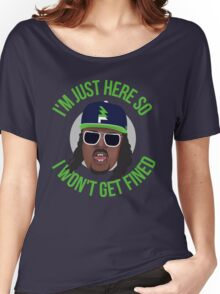 Marshawn Terrell Lynch : Beast Mode  Women's Relaxed Fit T-Shirt