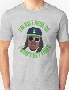 Marshawn Terrell Lynch : Beast Mode  Unisex T-Shirt