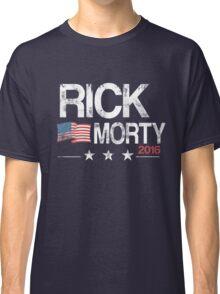 R & M Distressed Classic T-Shirt