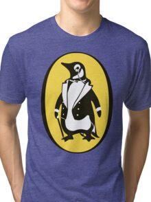 penguin : gentleman Tri-blend T-Shirt
