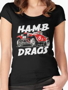 H.A.M.B DRAG Women's Fitted Scoop T-Shirt