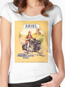 Ariel : Modern Motorcycles Women's Fitted Scoop T-Shirt