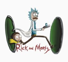 Rick End Morty - PORTAL Kids Tee