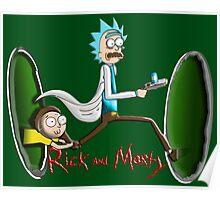 Rick End Morty - PORTAL Poster