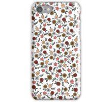 the flower garden iPhone Case/Skin