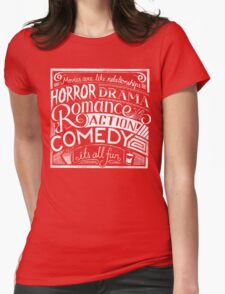 movies are like  Womens Fitted T-Shirt