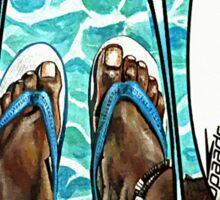 The Swimmer  Sticker