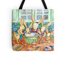 Cooking together  Tote Bag