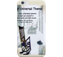 Universal theme example iPhone Case/Skin
