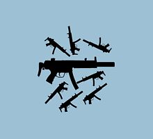 Assortment of MP5 Machine Guns Unisex T-Shirt