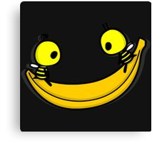 SMILING BANANA Canvas Print