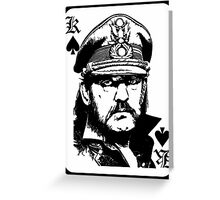 lemmy is king Greeting Card