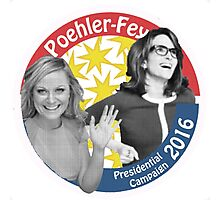 Poehler-Fey 2016 Photographic Print