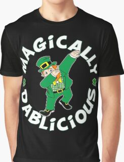 Dab Leprechaun Graphic T-Shirt