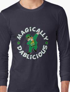 Dab Leprechaun Long Sleeve T-Shirt
