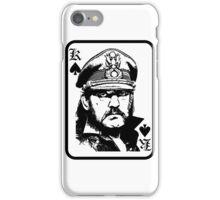 lemmy is king iPhone Case/Skin