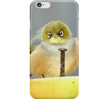 Ahhh! I Am So Sad - Silver-Eye - NZ iPhone Case/Skin