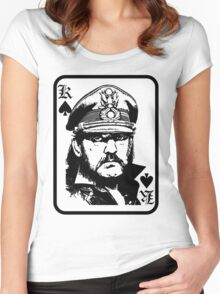lemmy is king Women's Fitted Scoop T-Shirt