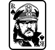 lemmy is king Photographic Print