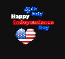 4th July happy independence day Unisex T-Shirt
