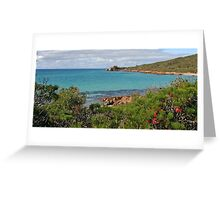 Meelup to Castle Rock, Dunsborough in Western Australia. Greeting Card