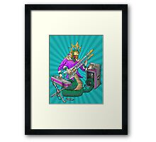 Quetzalcoatl god of Indie/Electronica Framed Print