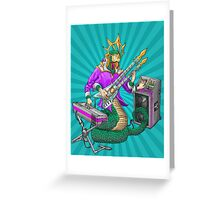 Quetzalcoatl god of Indie/Electronica Greeting Card