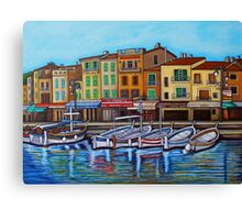 Colours of Cassis Canvas Print