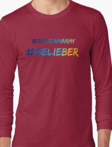 belieber Long Sleeve T-Shirt