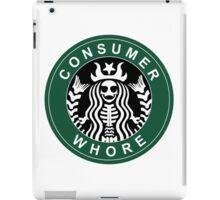 starbucks parody iPad Case/Skin