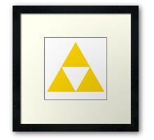 Triangle Zelda Framed Print