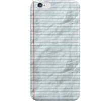 College Ruled iPhone Case/Skin
