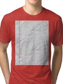 College Ruled Tri-blend T-Shirt