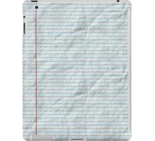 College Ruled iPad Case/Skin