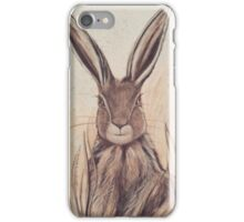 Harvest Hare iPhone Case/Skin