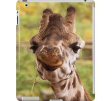 Hilarious Giraffe - Nature Photography iPad Case/Skin