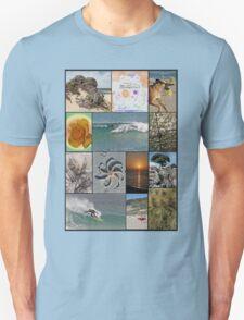 Collage Surf Tee Design Margaret River Western Australia T-Shirt