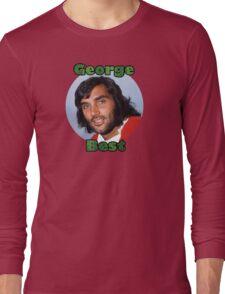 George Best - Tribute to El Beatle Long Sleeve T-Shirt