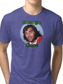 George Best - Tribute to El Beatle Tri-blend T-Shirt