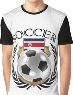 Costa Rica Soccer 2016 Fan Gear Graphic T-Shirt