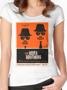 classic movie : The Blues Brothers Women's Fitted Scoop T-Shirt