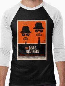 classic movie : The Blues Brothers Men's Baseball ¾ T-Shirt