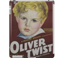classic movie : Oliver Twist iPad Case/Skin