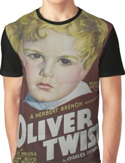 classic movie : Oliver Twist Graphic T-Shirt
