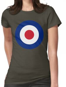 RAF Roundel Womens Fitted T-Shirt