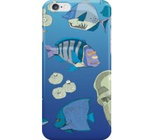 Fish studies iPhone Case/Skin