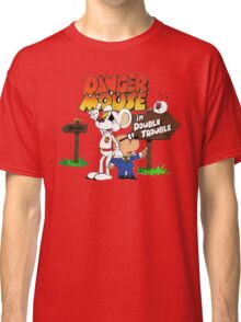 DOUBLE TROUBLE MOUSE Classic T-Shirt
