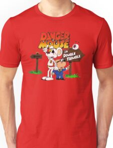 DOUBLE TROUBLE MOUSE Unisex T-Shirt