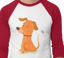 Dog : waiting for something ( 2 ) Men's Baseball ¾ T-Shirt